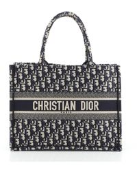 Dior Leinen Handtaschen - Blau