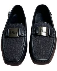 Dior Mocassins en Toile Noir