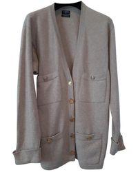Chanel Jersey en cachemira beige - Neutro