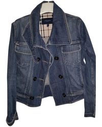 Burberry Jacke Denim - Jeans Blau