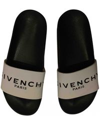 Givenchy White Rubber Sandals