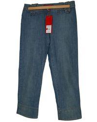 Christian Lacroix Short Jeans - Blue