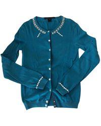 Marc Jacobs Blue Cotton Knitwear