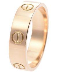 Cartier Love Gelbgold Ringe - Mettallic