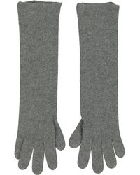 Hermès - Pre-owned Cashmere Long Gloves - Lyst