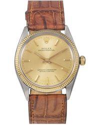 Rolex Orologio in oro e acciaio dorato Oyster Perpetual 34mm - Metallizzato