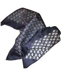 Hermès Seidentücher - Blau