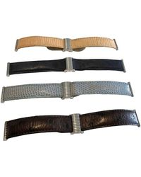 Boucheron Exotenleder Uhren - Mehrfarbig