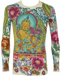 John Galliano - Pre-owned Vintage Multicolour Viscose Tops - Lyst