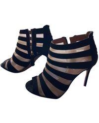 Aquazzura Sexy Thing Heels - Black