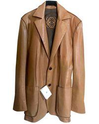 Loewe Leather Vest - Multicolour