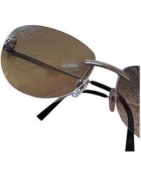 Chanel Gafas en metal plateado - Metálico