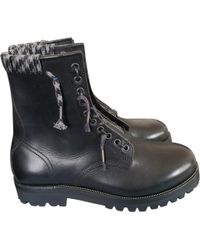 Lanvin - Boots en cuir - Lyst