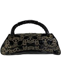 Vivienne Westwood Patent Leather Handbag - Black