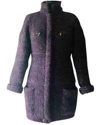 Chanel Cappotto Tweed - Viola