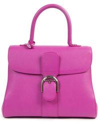 Delvaux Le Brillant Leather Handbag - Pink