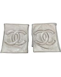 Chanel Leather Mittens - Multicolour
