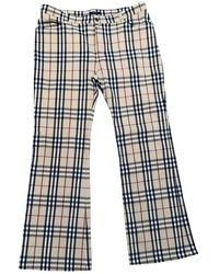 Burberry Straight Jeans - Natural