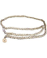 Chanel Cintura in catena dorato - Metallizzato