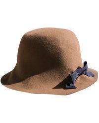 Marni Wool Hat - Brown