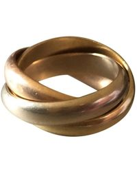 Cartier Vintage Trinity - Yellow Gold Rings - Multicolor