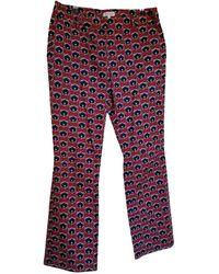 Claudie Pierlot Trousers - Red
