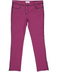 Chanel Straight Pants - Purple