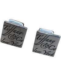 Tiffany & Co. Silber Manschettenknöpfe - Mettallic