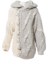 Nina Ricci Jersey en lana gris