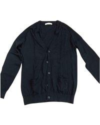 Sandro Wolle Pullover/westen/sweatshirts - Blau