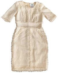Chanel Mini Dress - Natural