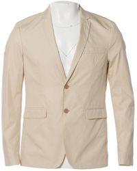 Acne Studios - Ecru Cotton Jacket - Lyst