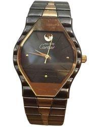 Cartier Vermeil Uhren - Mettallic