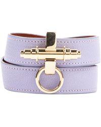 Givenchy Obsedia Leder armbänder - Lila
