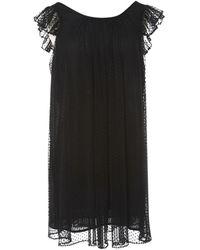 Claudie Pierlot - \n Black Polyester Dress - Lyst