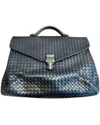 Bottega Veneta - Pre-owned Vintage Black Leather Bags - Lyst 9ccdd6002e231