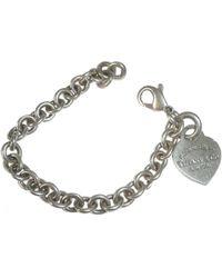 Tiffany & Co. - Pre-owned Silver Bracelet - Lyst