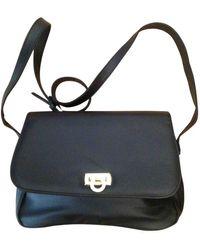 Balmain Leather Crossbody Bag - Black