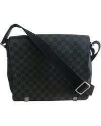 Louis Vuitton District Leinen Taschen - Mehrfarbig
