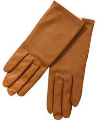 Hermès Leder Halbfingerhandschuhe - Mehrfarbig