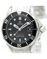 Omega Reloj en acero plateado Seamaster - Multicolor