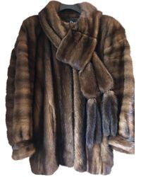 Dior Mink Jacket - Brown