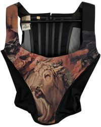 Vivienne Westwood Silk Corset - Black