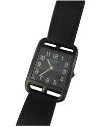 Hermès Cape Cod Uhren - Schwarz