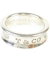 Tiffany & Co. Bagues Tiffany 1837 en Argent Argenté - Métallisé