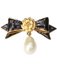 Chanel - Pre-owned Brooch - Lyst 96bf36e271c