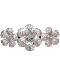Chanel Accesorios para la cabeza en metal plateado Camélia - Multicolor