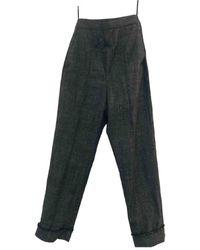 Neil Barrett Wool Jumpsuit - Gray