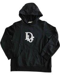 Dior Black Cotton Knitwear