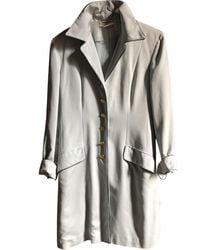 Ferragamo Wool Coat - Multicolor